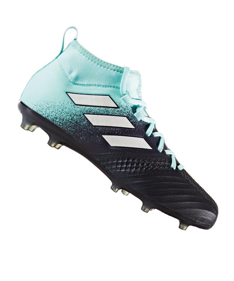 1b6e14f50d1284 adidas ACE 17.1 Primeknit FG J Kids Blau Weiss - blau