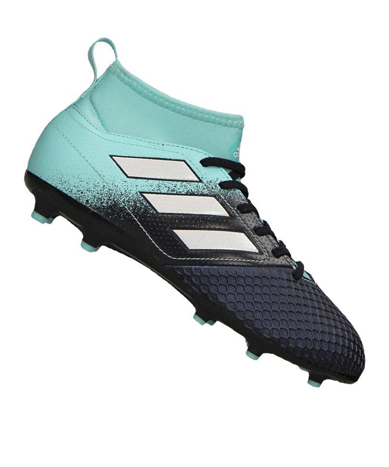 new product 8a166 fb8fa adidas ACE 17.3 Primemesh FG J Kids Blau Weiss - blau