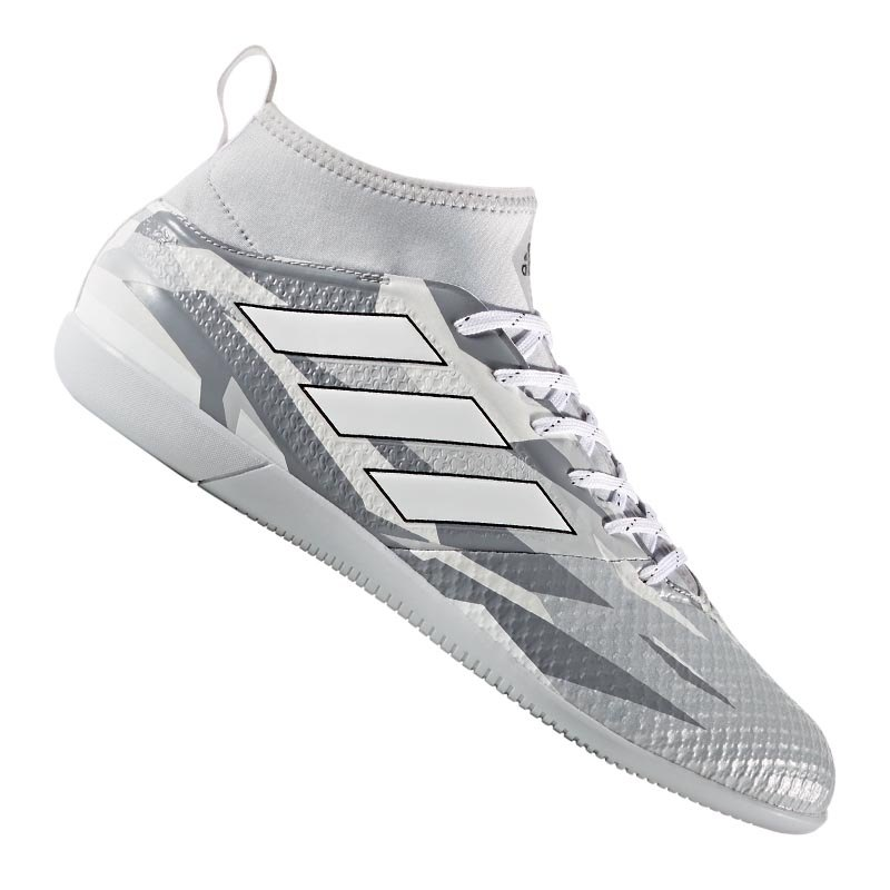 adidas ace 17 3 primemesh in halle grau weiss fussball. Black Bedroom Furniture Sets. Home Design Ideas