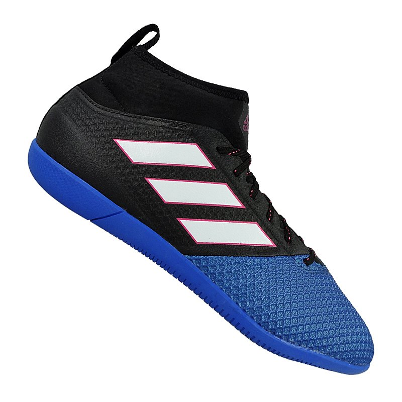 adidas ace 17 3 primemesh in halle schwarz blau fussball. Black Bedroom Furniture Sets. Home Design Ideas