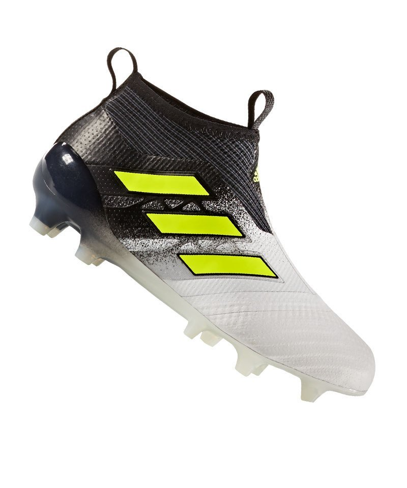 check out 60c1a ba373 adidas ACE 17+ Purecontrol FG J Kids Weiss Gelb - weiss