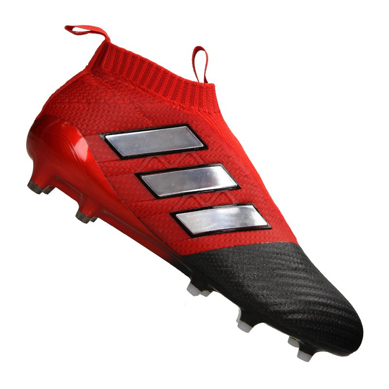 adidas ACE 17+ Purecontrol FG Rot Weiss Schwarz - rot