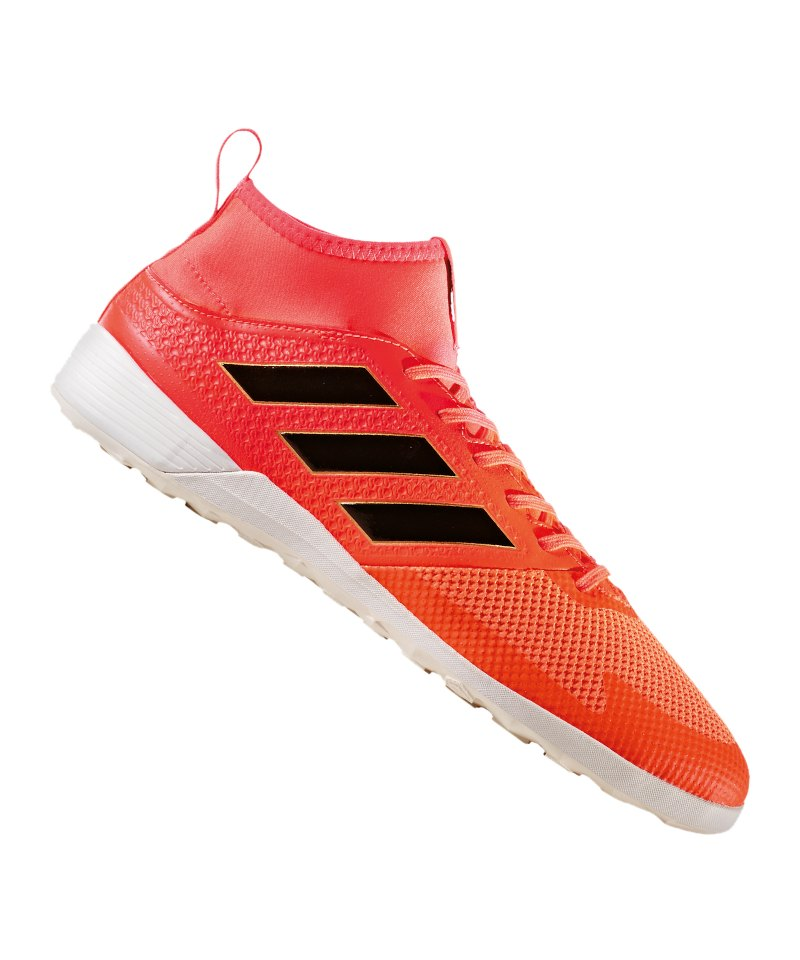 adidas ACE Tango 17.3 IN Halle Rot Schwarz - rot