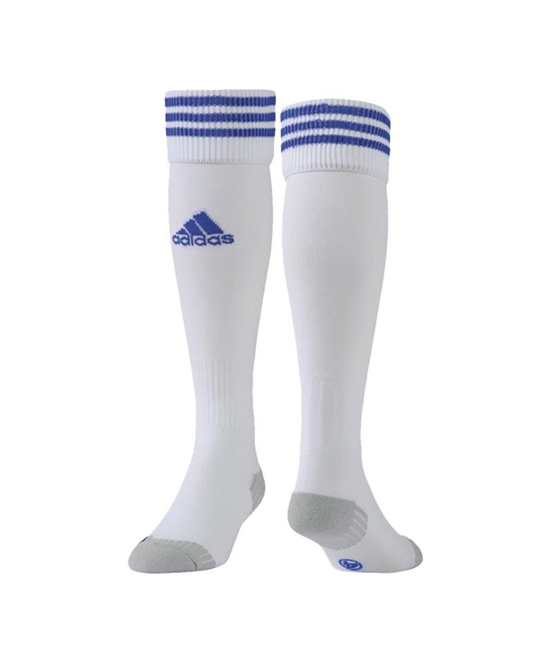 adidas Adisock 12 Stutzenstrumpf Weiss Blau