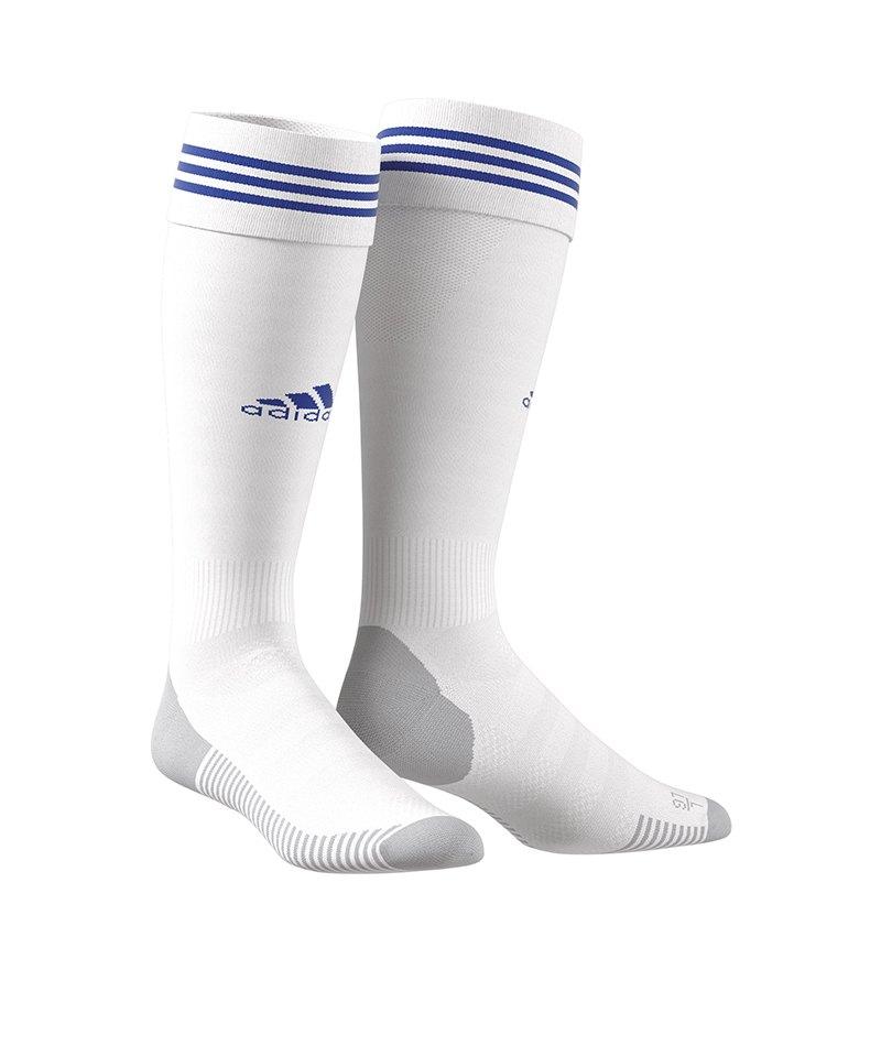 adidas Adisock 18 Stutzenstrumpf Blau Weiss
