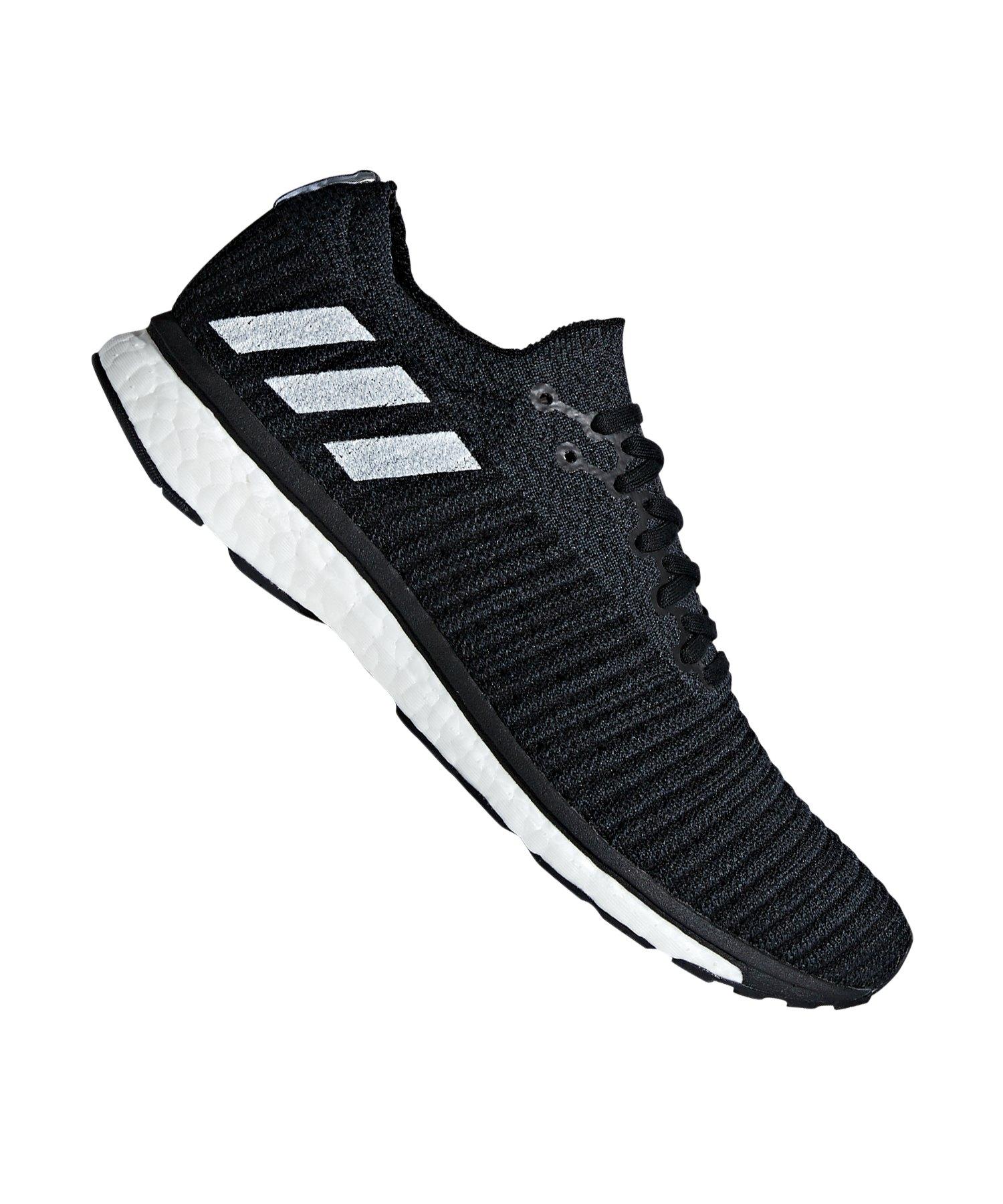 sports shoes dae88 158c3 adidas Adizero Prime Running Schwarz Weiss - schwarz