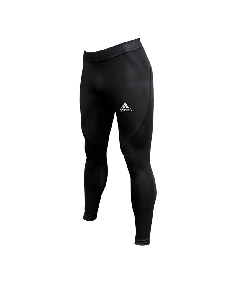 adidas Alphaskin Tight Hose lang Schwarz