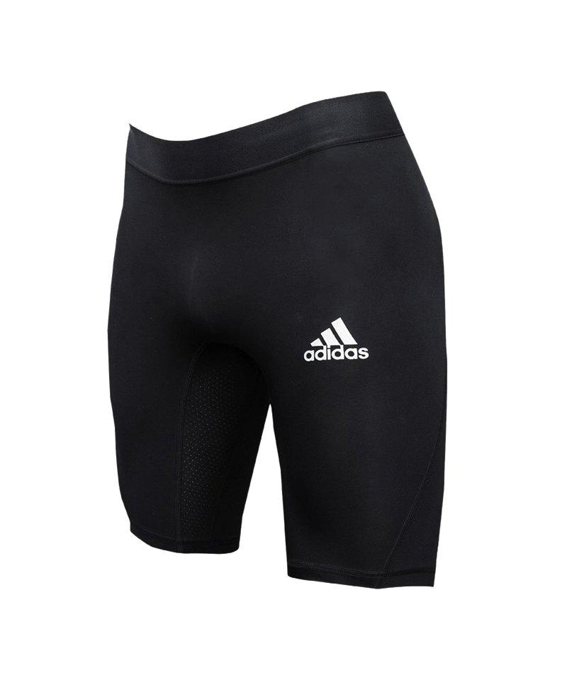 066893e5ec5 adidas Alphaskin Sport Short Schwarz