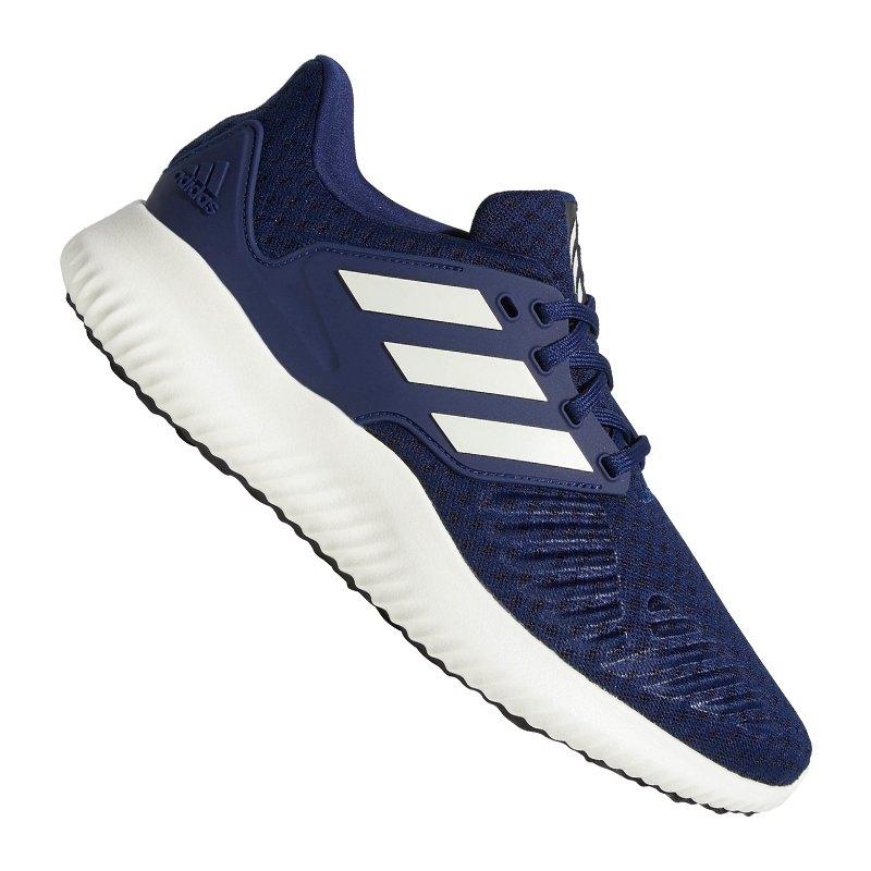 Adidas AlphaBounce Laufen Herren BlauGelb Grau B54187