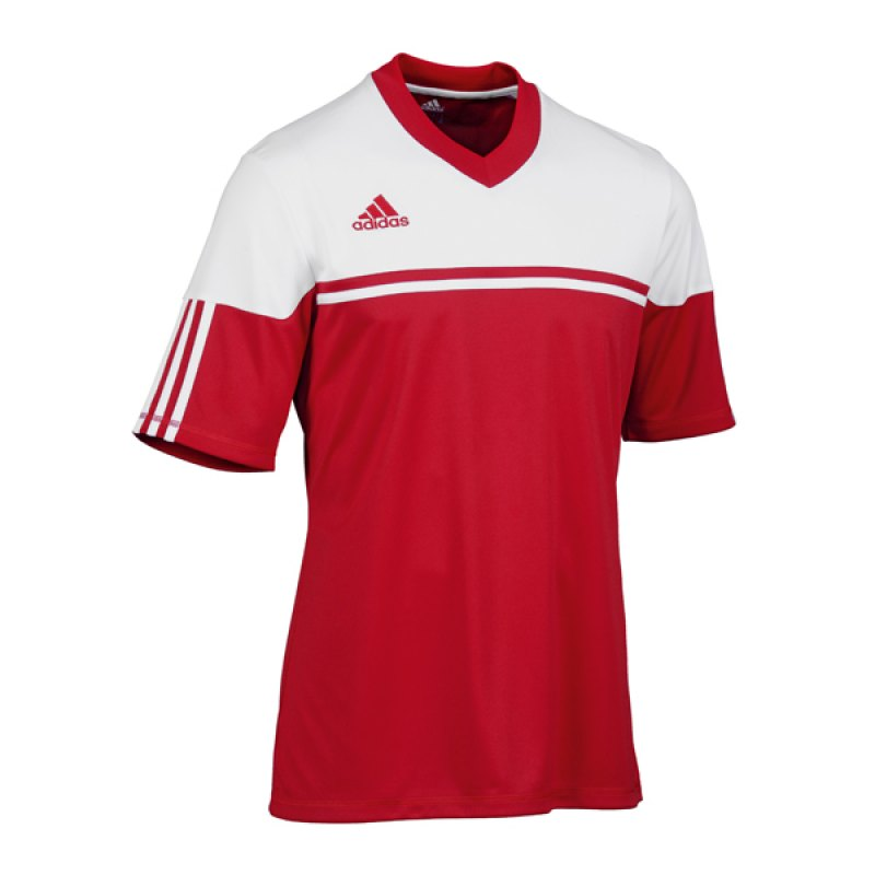adidas autheno 12 trikot kurzarm kids rot weiss. Black Bedroom Furniture Sets. Home Design Ideas