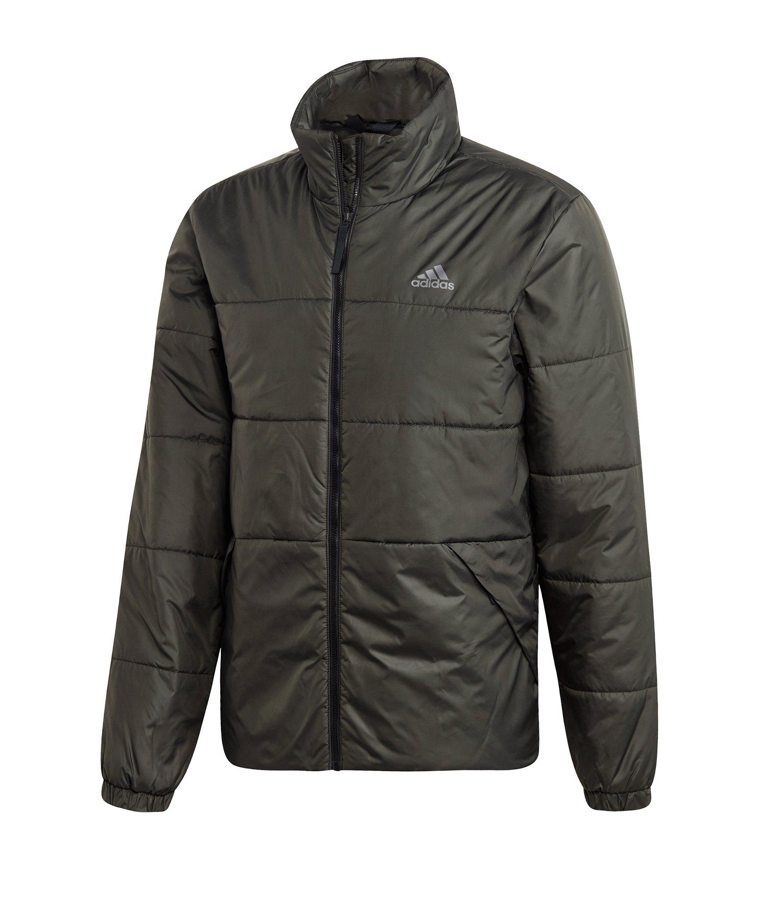 adidas BSC 3 Stripes Jacke Grau
