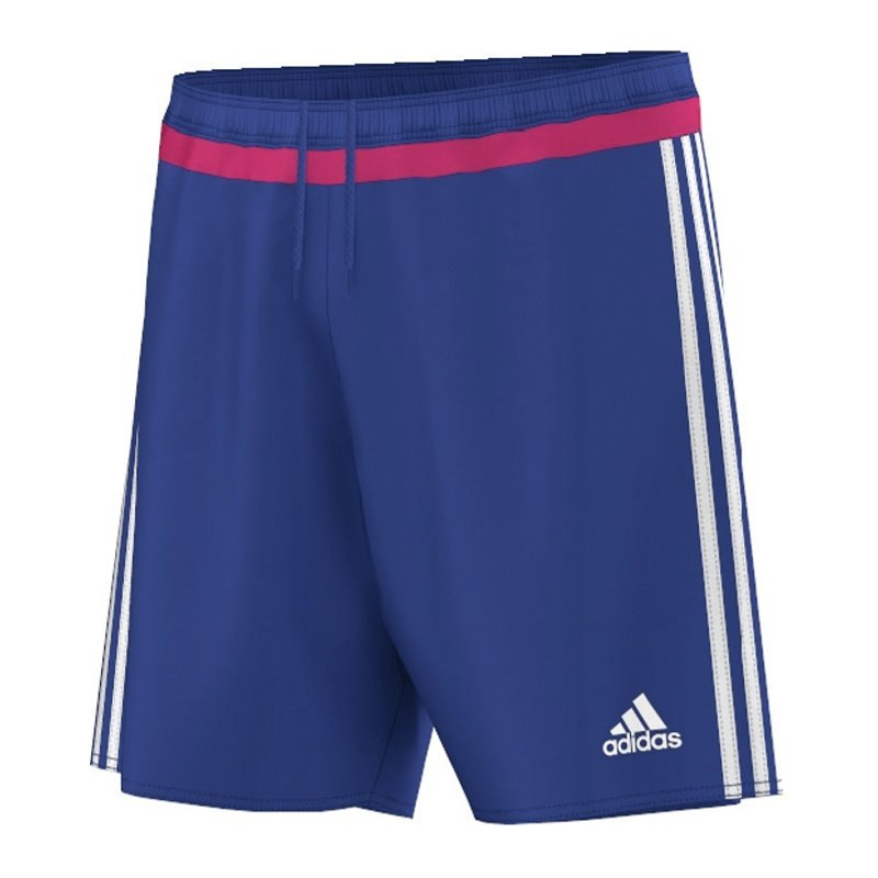 adidas campeon 15 short hose kurz blau pink matchshort. Black Bedroom Furniture Sets. Home Design Ideas