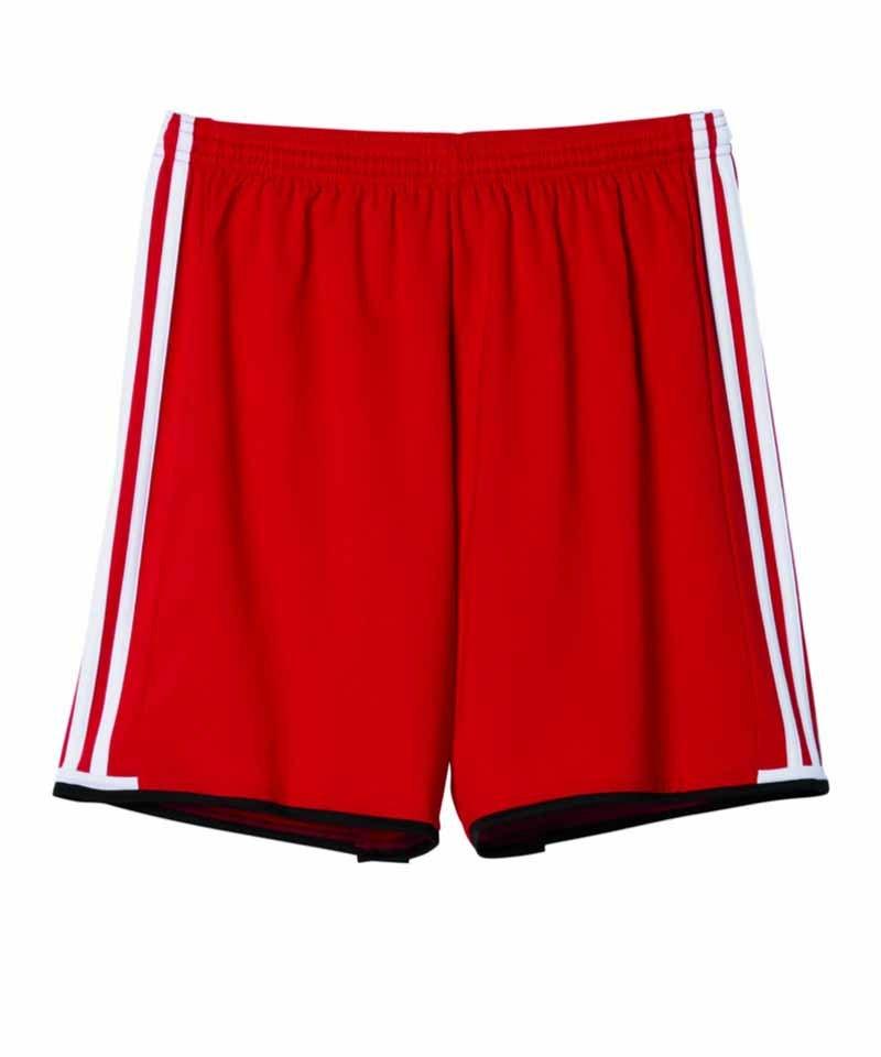 Adidas Condivo 16 Shorts bright red weiß ARMCUXEVG