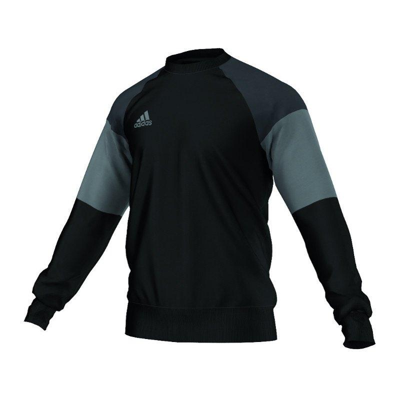16 X 11 Sweat Towel: Adidas Condivo 16 Sweat Top Schwarz Grau