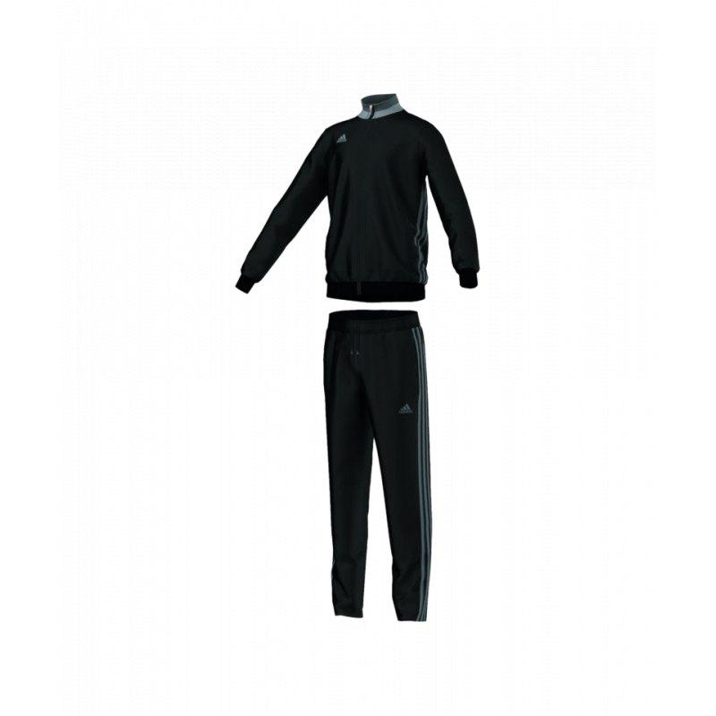 Adidas Trainingsanzug Kinder Schwarz Gold | Adidas Kinder
