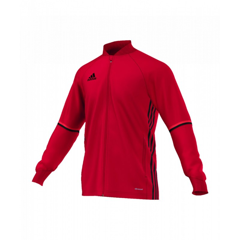 adidas Condivo 16 Trainingsjacke Rot Schwarz   Jacket   Man   Männer ... 106c3d49d1