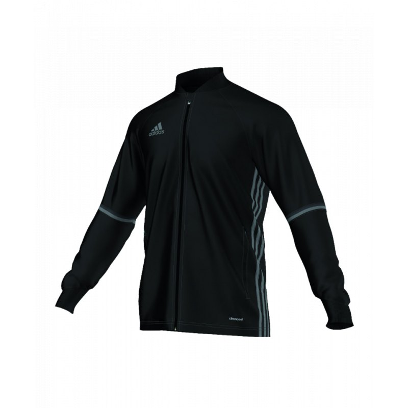 adidas condivo 16 trainingsjacke schwarz grau jacket. Black Bedroom Furniture Sets. Home Design Ideas