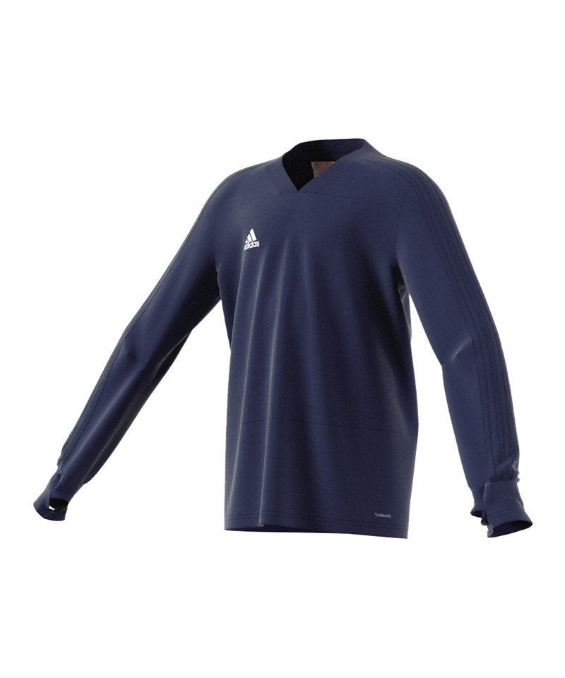 100% Zufriedenheit Auschecken unverwechselbares Design adidas Condivo 18 Sweatshirt Kids Dunkelblau