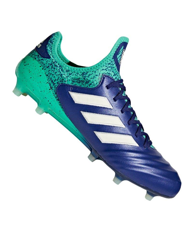 outlet store aa898 48d34 adidas COPA 18.1 FG Blau Grün - blau
