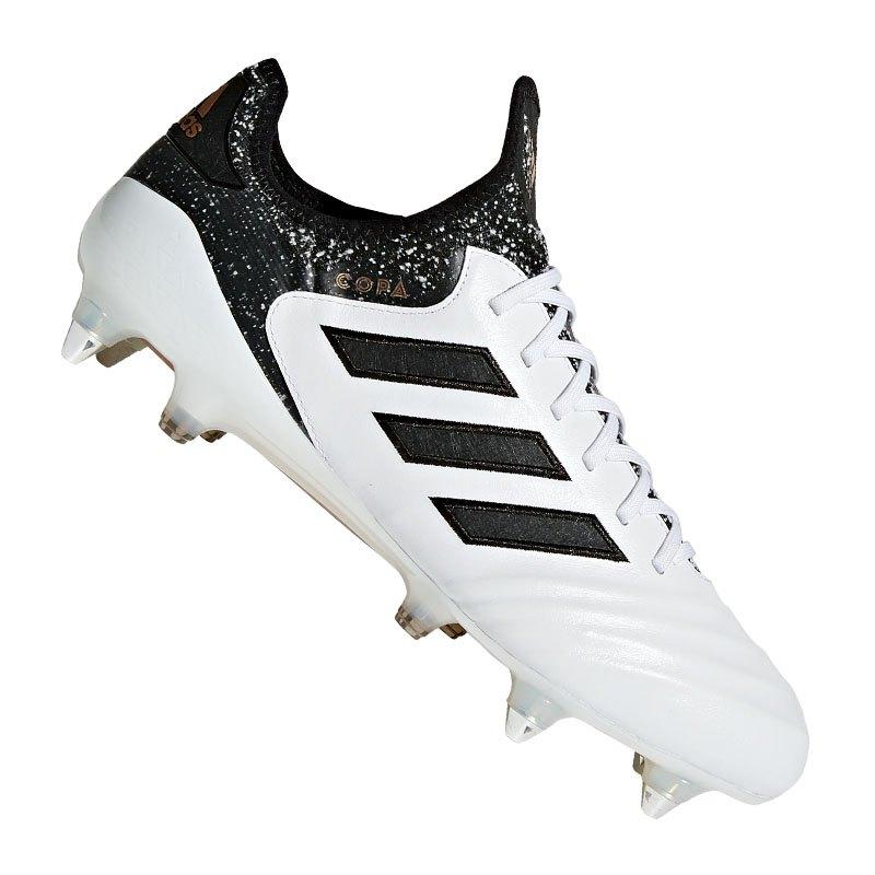 new product 741b8 64bad adidas COPA 18.1 SG Weiss Schwarz - weiss