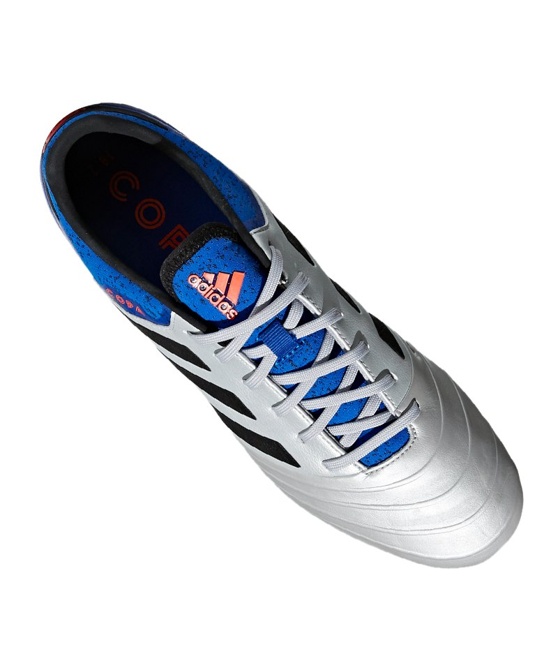 3b1ebb66f5e ... adidas COPA 18.2 FG Silber Blau - silber ...