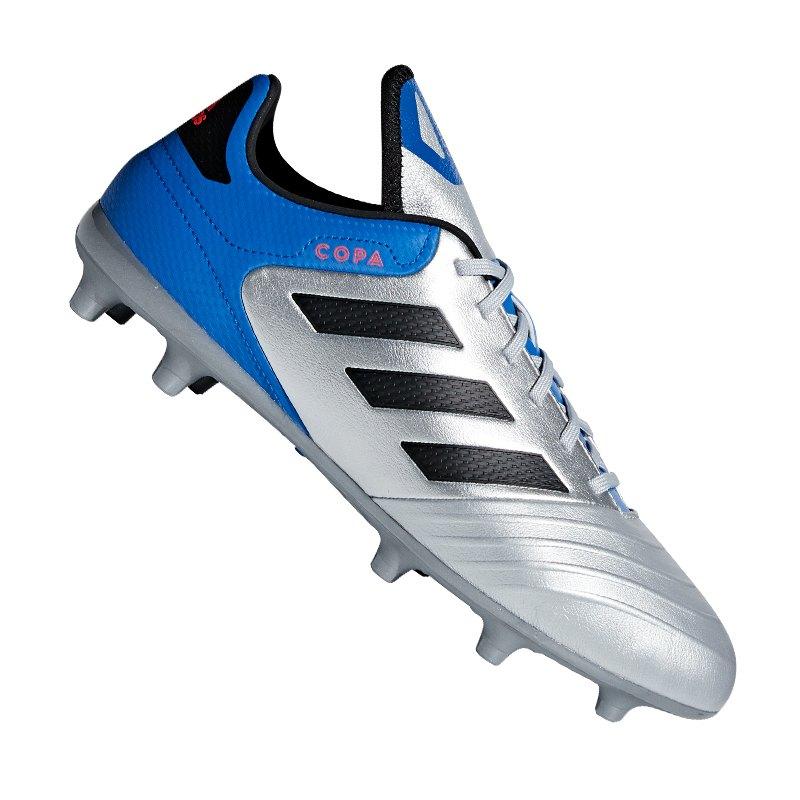 newest 0a0f2 9c011 adidas COPA 18.3 FG Silber Blau - silber
