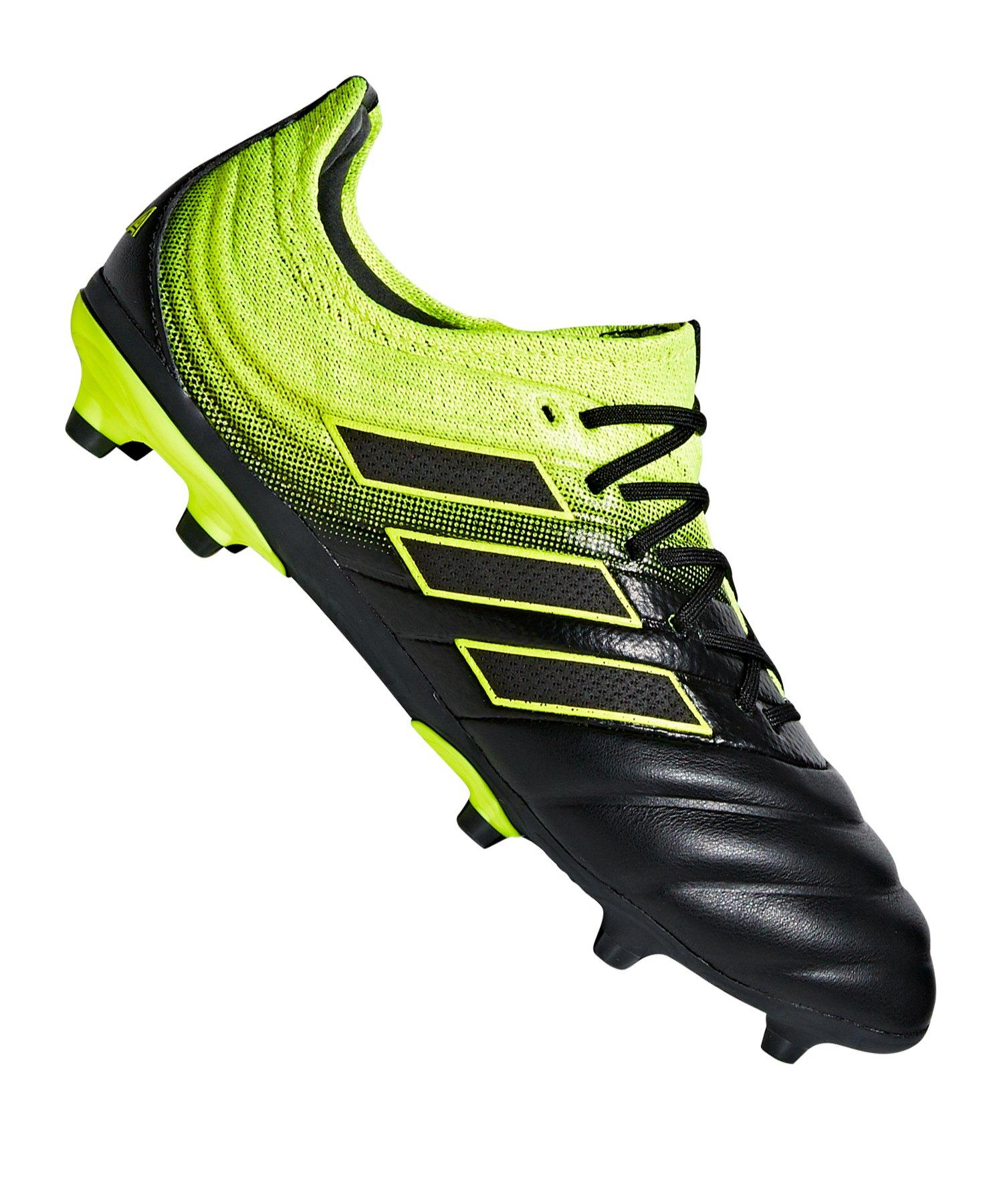 cheap for discount f56c8 12761 adidas COPA 19.1 FG J Kids Schwarz Gelb - schwarz
