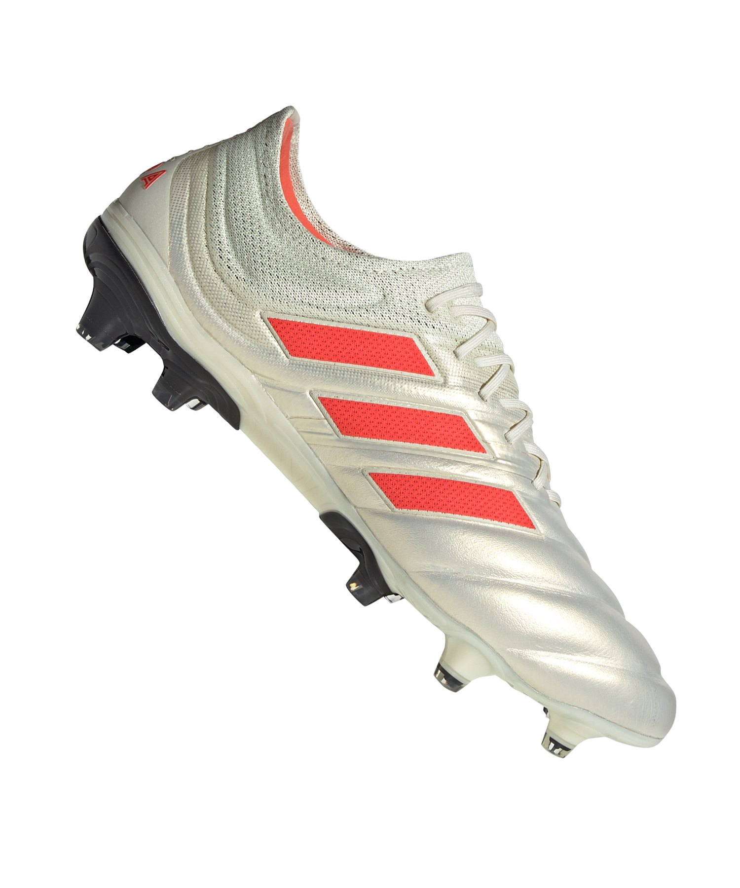 adidas COPA 19.1 FG Weiss Rot