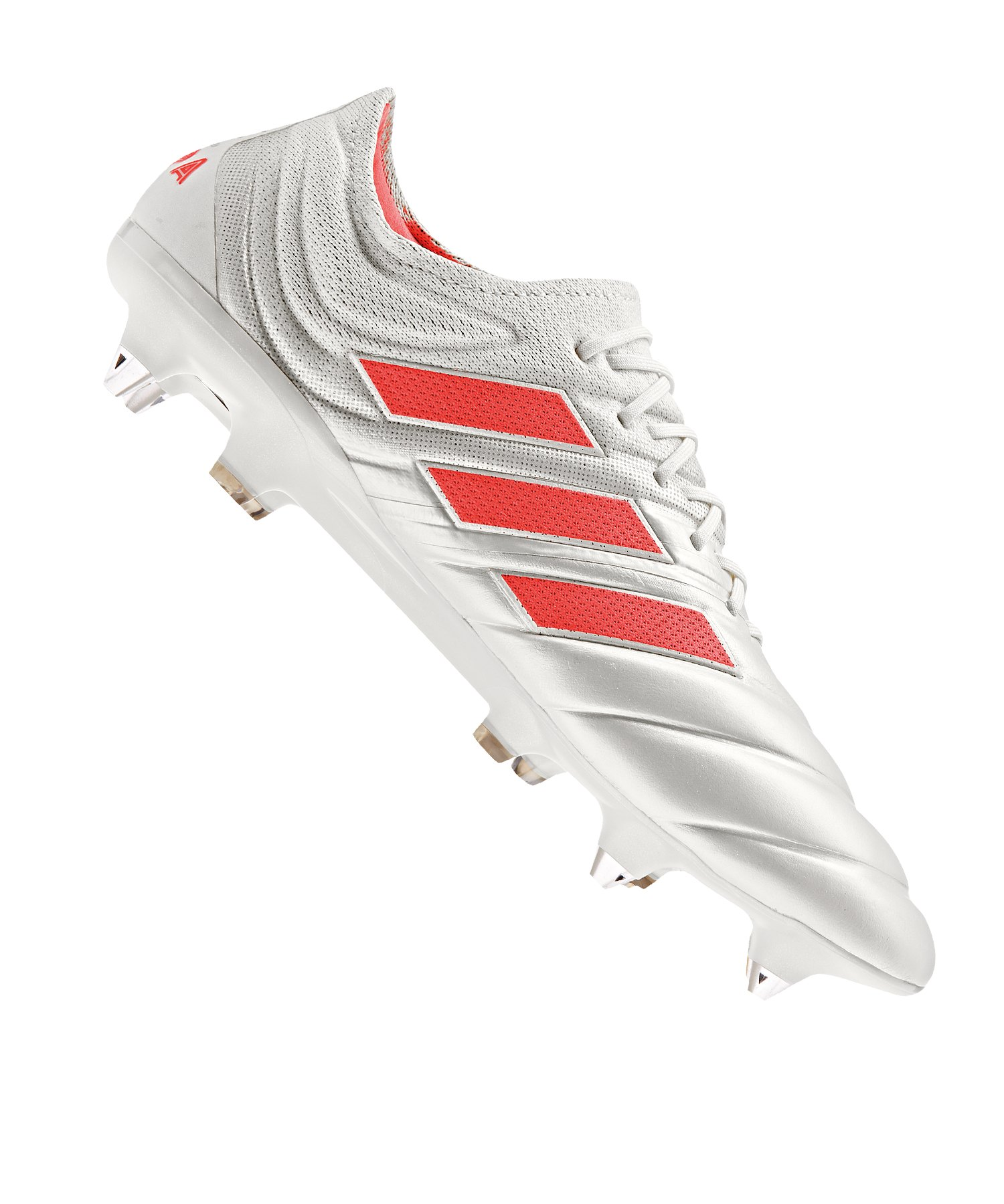 adidas COPA 19.1 SG Weiss Rot