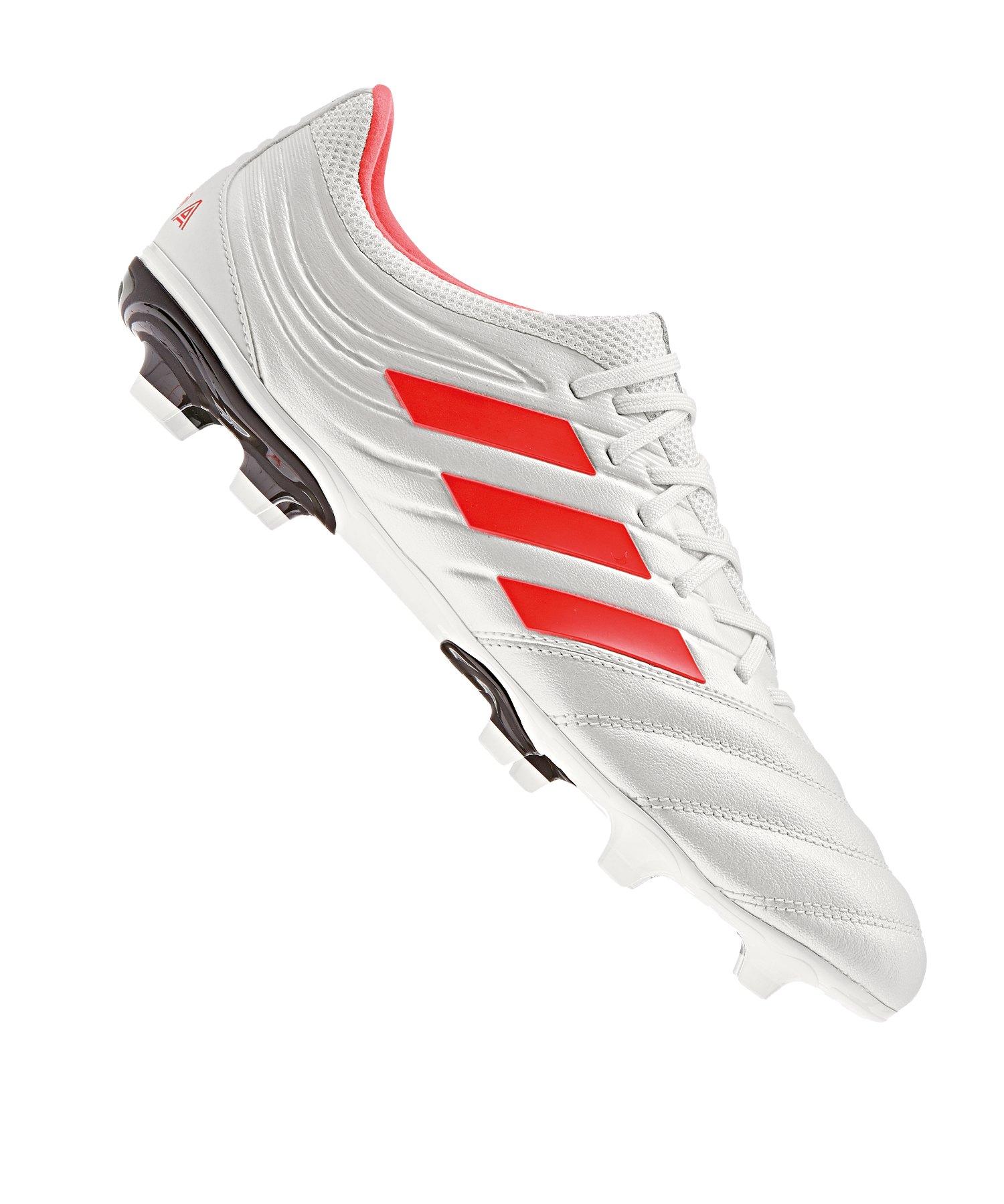adidas COPA 19.3 FG Weiss Rot