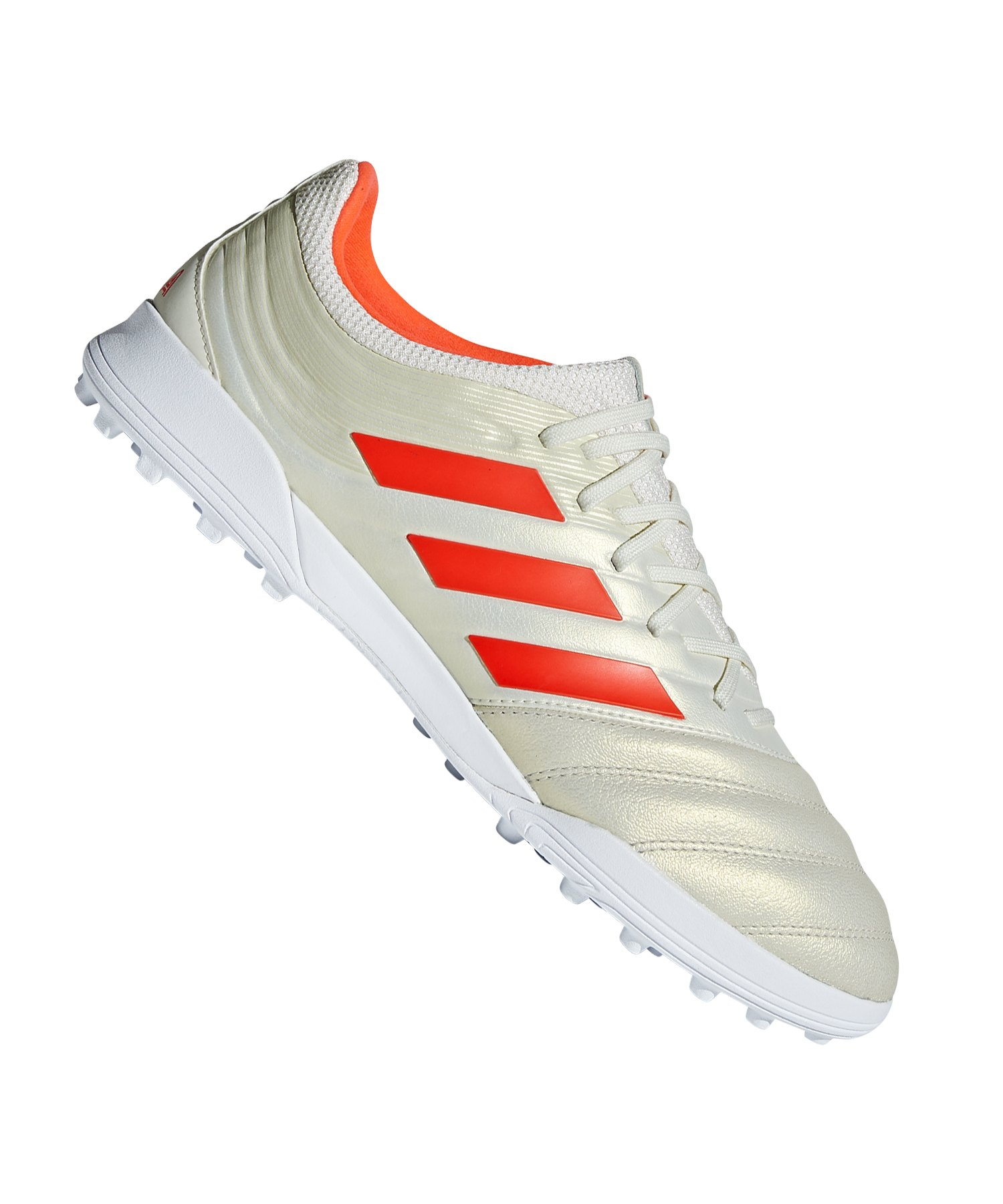 adidas COPA 19.3 TF Weiss Rot