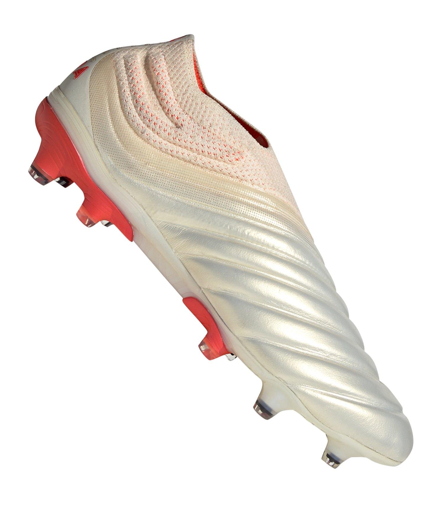 promo code bbbb0 d51a9 adidas COPA 19+ FG Weiss Rot  Fussballschuhe  Rasen  Ballgefühl  Nocken   10107563