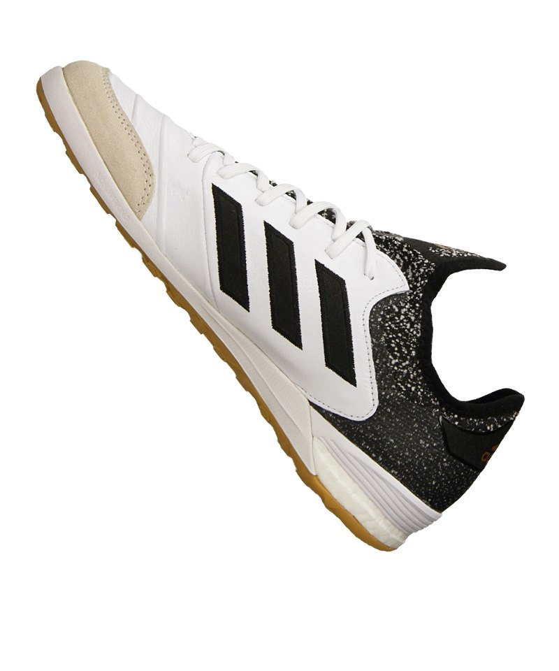 separation shoes c5d19 882ef ... save off 3df6d a86a9 ... adidas COPA Tango 18.1 IN Halle Weiss Schwarz  ...