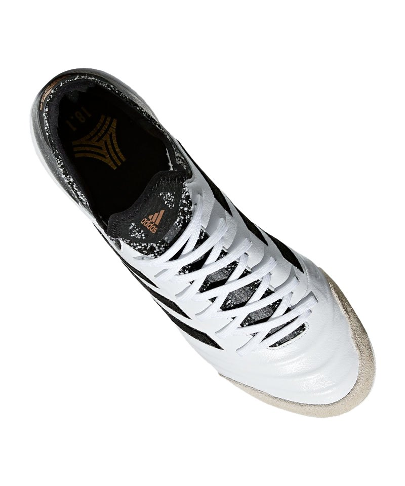 new arrival d0573 5d1a3 ... adidas COPA Tango 18.1 IN Halle Weiss Schwarz - weiss ...