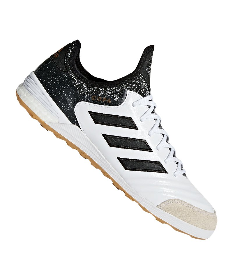 100% authentic 6b4e0 2fdfe adidas COPA Tango 18.1 IN Halle Weiss Schwarz - weiss
