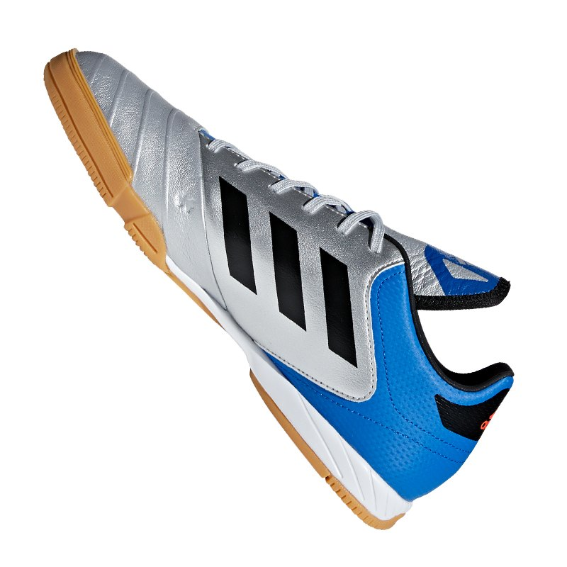 huge discount 7e774 69925 ... adidas COPA Tango 18.3 IN Halle Silber Blau - silber ...