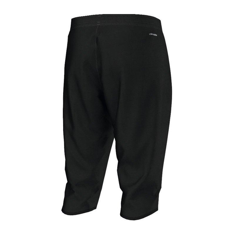 adidas core 15 3 4 pant hose schwarz trainingshose teamwear vereinsausstattung men. Black Bedroom Furniture Sets. Home Design Ideas