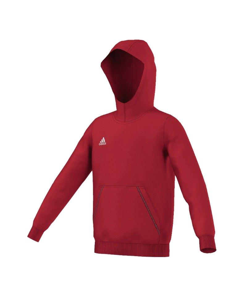 adidas Core 15 Hoody Sweatshirt Kids Grau