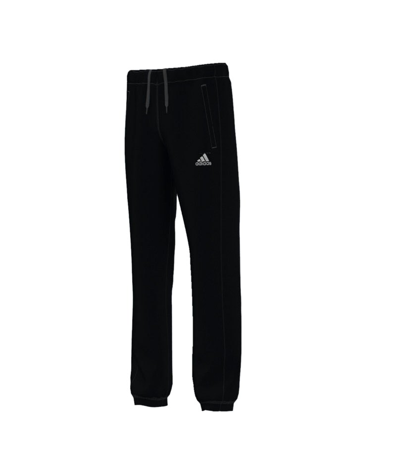 adidas Core 15 Sweat Pant Hose Kids Schwarz