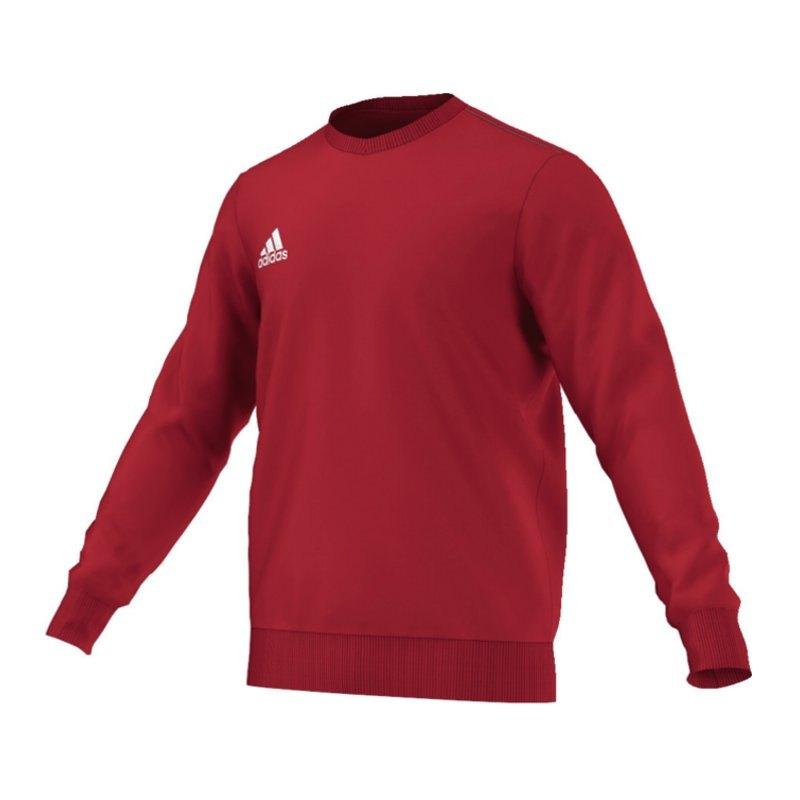 adidas core 15 sweat top sweatshirt kids rot teamsport pullover kindershirt kinder. Black Bedroom Furniture Sets. Home Design Ideas