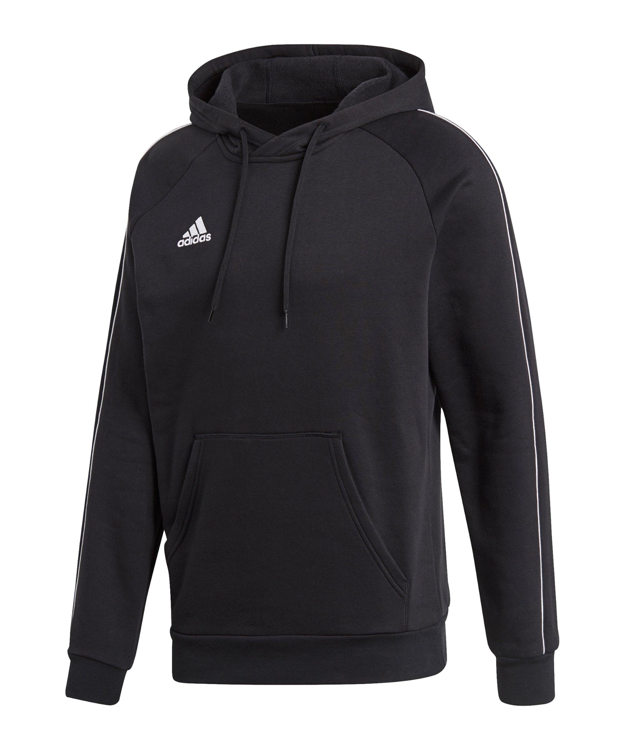 adidas core 18 hoodie grau