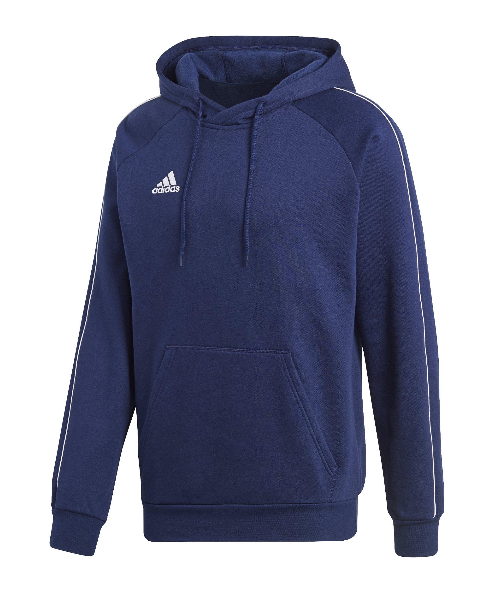 adidas core 18 hoody blau