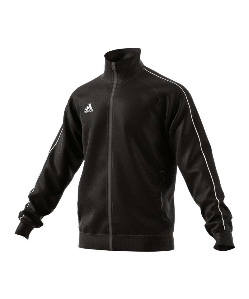 ADIDAS HERREN Trainingsjacke schwarz, Gr. M Core 18 EUR