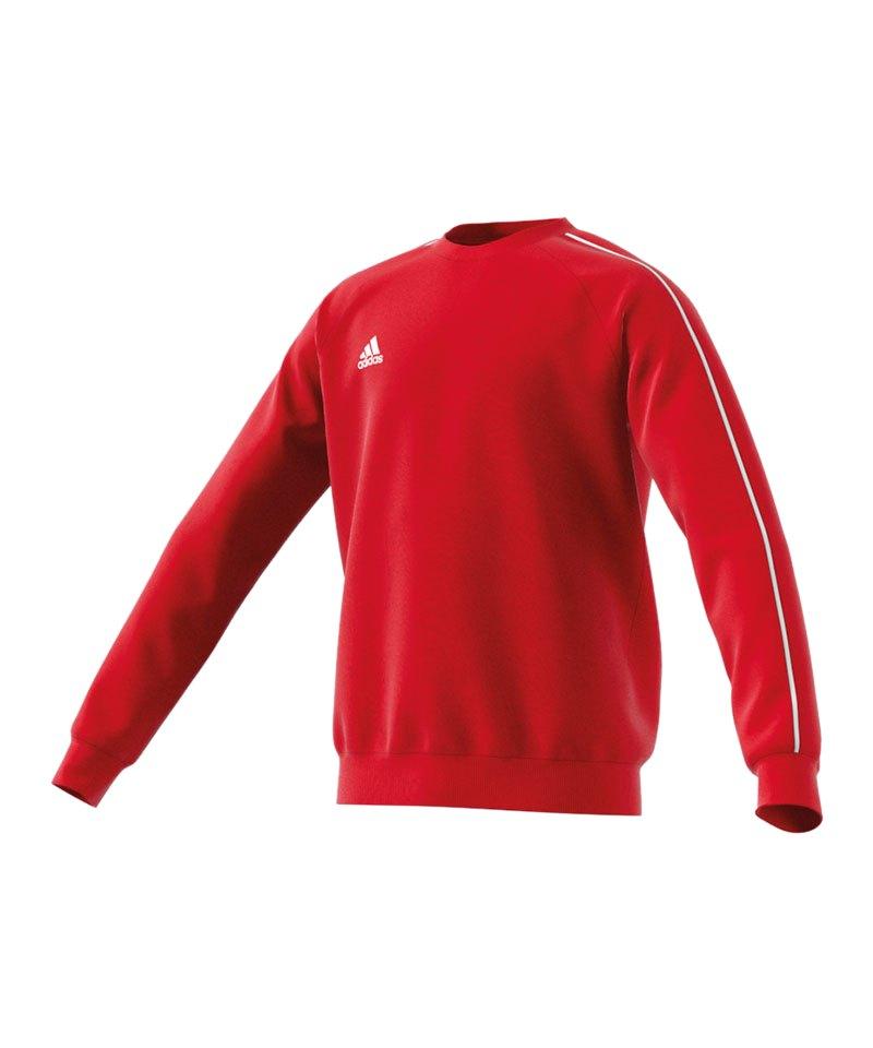 Adidas Core 15 Sweatshirt Kinder Rot Weiß Schnäppchen