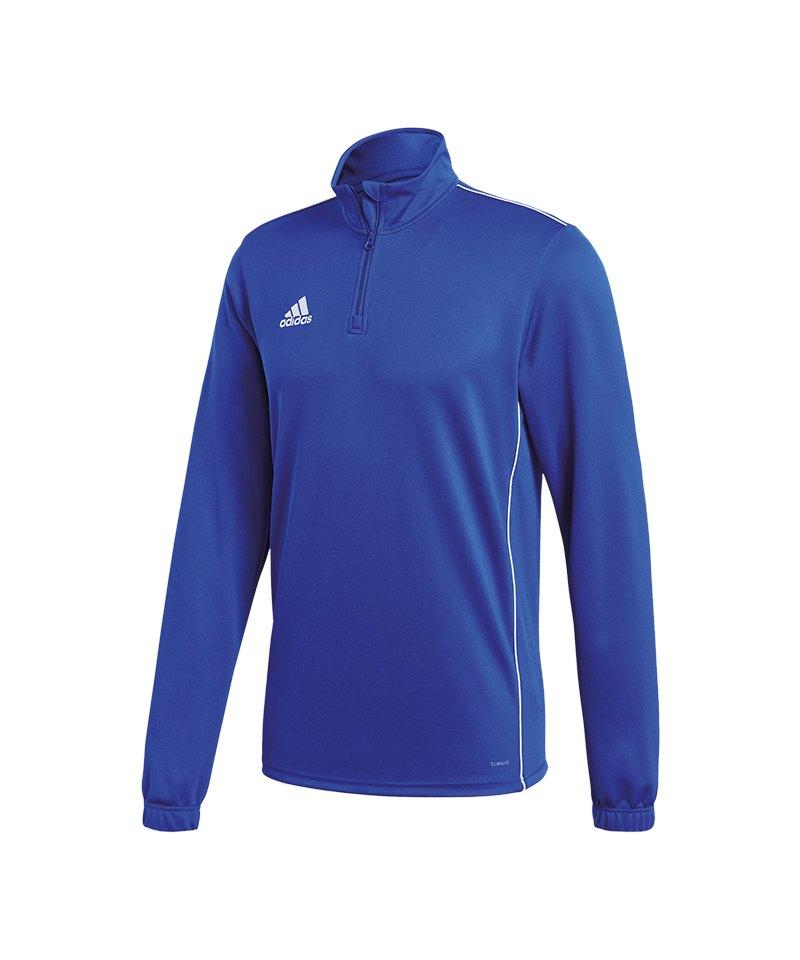 adidas Core 18 Training Top Blau Weiss | Teamsport