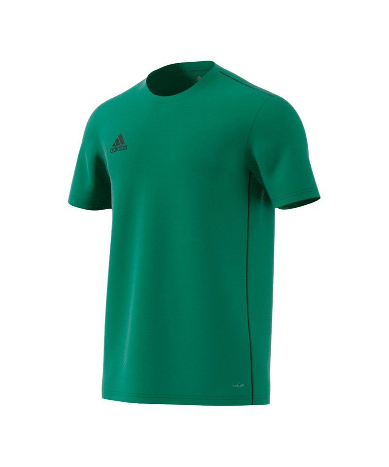 adidas Core 18 Trainingsshirt Grün Schwarz