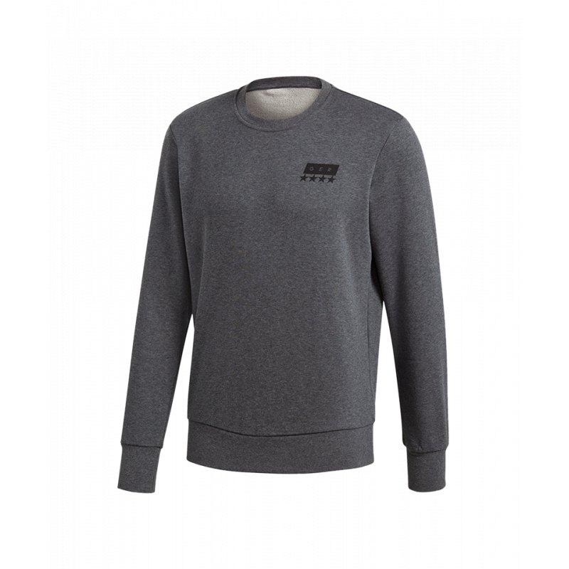 adidas DFB Deutschland SGR Crew Sweatshirt Grau
