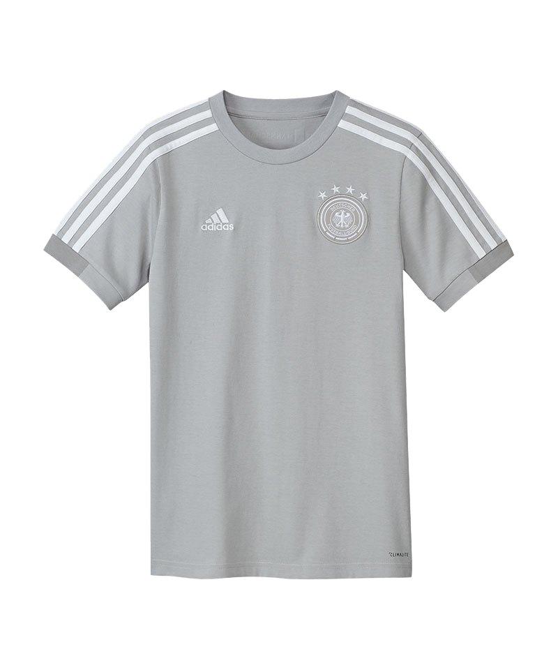 4e238adeeced adidas DFB Deutschland Tee T-Shirt Kids Grau   Fanartikel ...
