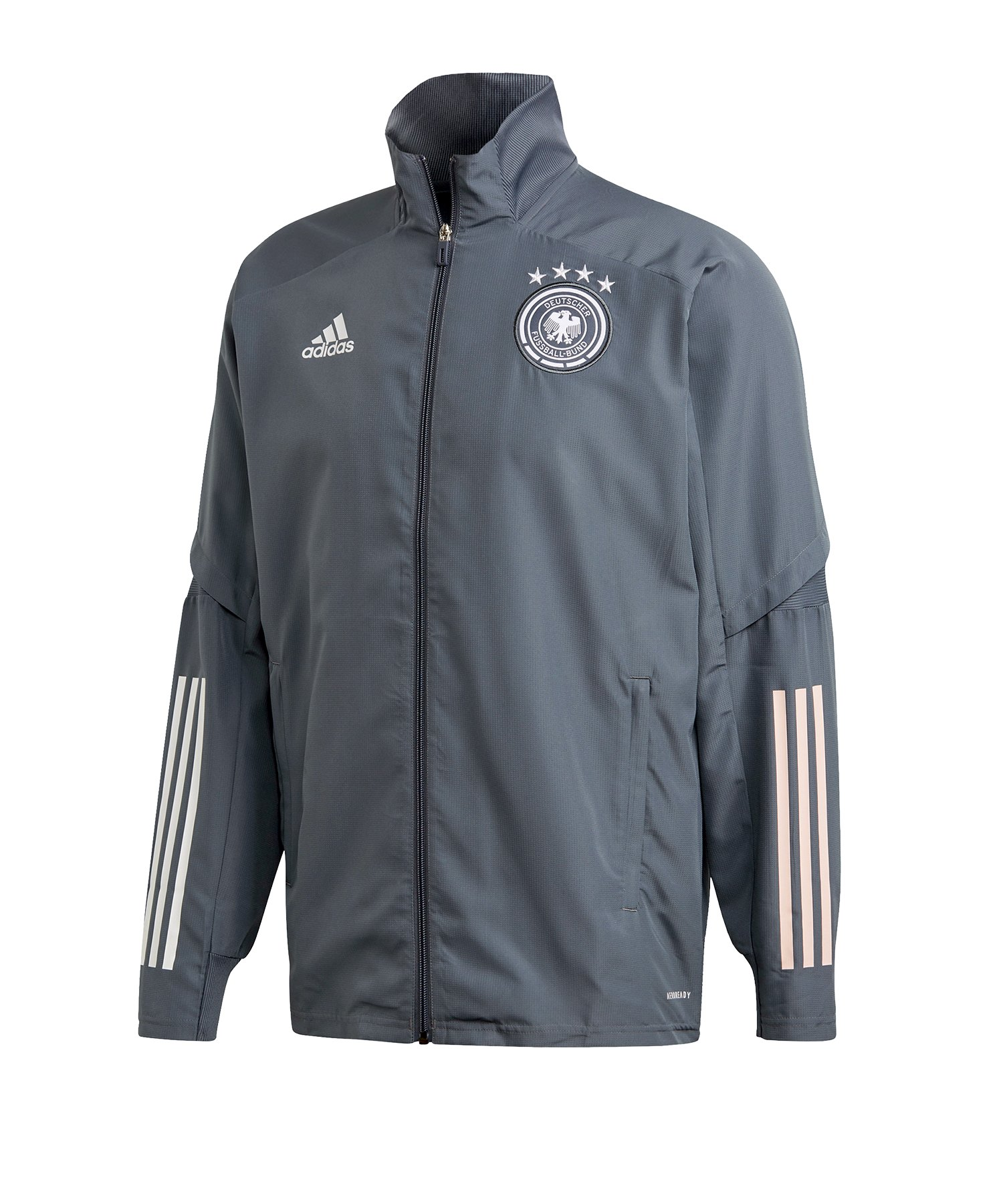 adidas dfb deutschland z.n.e jacke woven schwarz