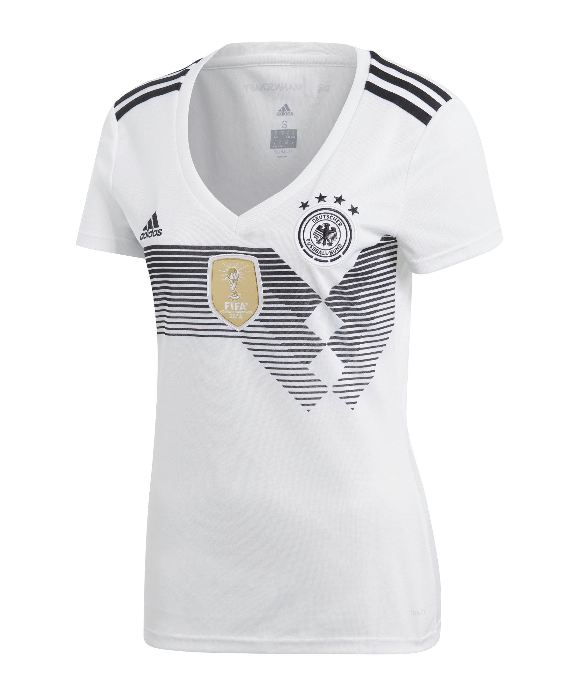 Trikot Weiss Wm18 Damen H Adidas Dfb Deutschland nkX8PN0wO